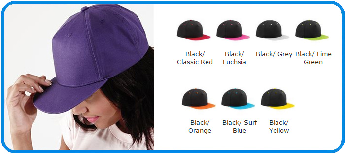 B610C contrast bright colour snapbacks