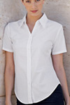 ladies short sleeve oxford shirts