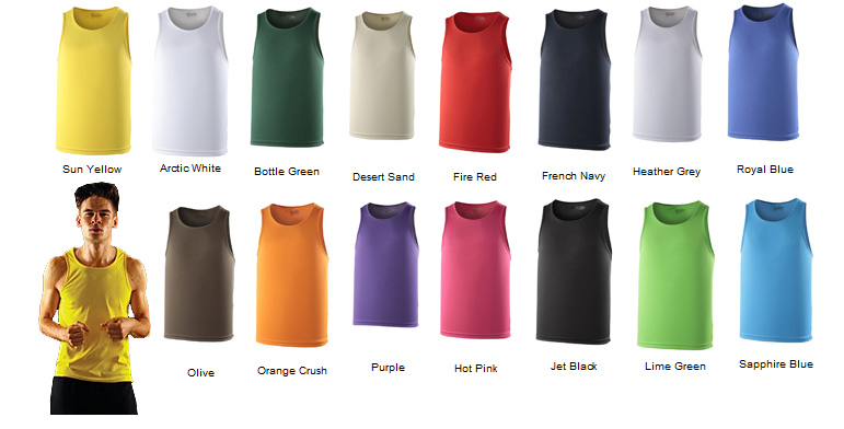 awd cool vests colours