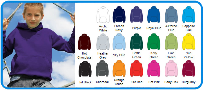 awd kids hooded tops