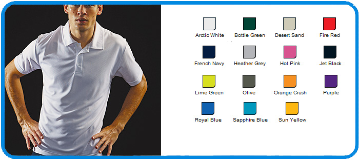 awd polyester polo tops
