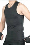 cotton gym muscle vests