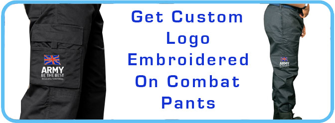 custom combat trousers