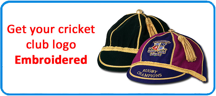 Personalised cricket clothing