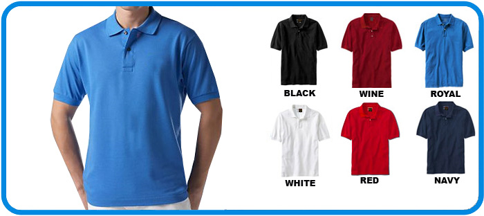 deluxe cotton polo shirt