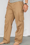 fitted combat trousers