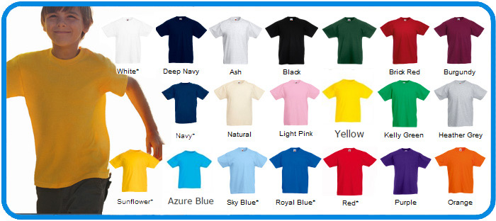 fotl children value weight t shirts