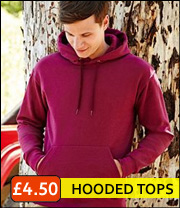 fruit of loom hooded top