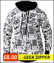 geek zip hooded jacket