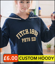 personalised hooded sweatshirts