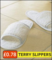 bath slippers