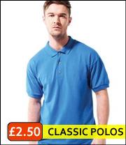 classic ss pique polo shirts