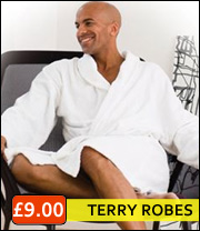 terry bathrobes