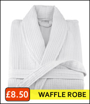 waffle robes