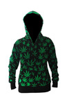 hoody happy leaf womens