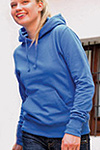 henbury ladies hooded