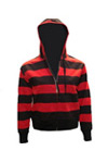 Horizontal womens hoody
