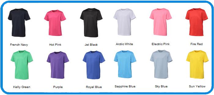 a99a71d6 AWD kids cool polyester sport t shirts JC01J
