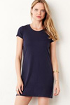 Bella long length t shirt dress