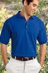 poly cotton polo shirts