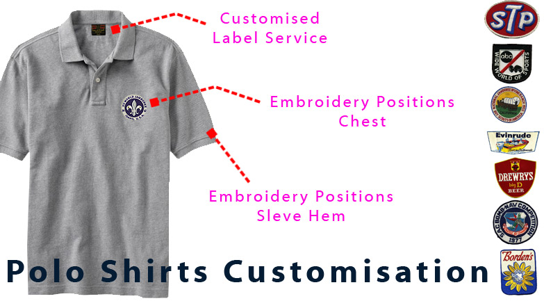 Embroidered Polo Shirts Polo Shirts Embroidery Cheap Embroidered