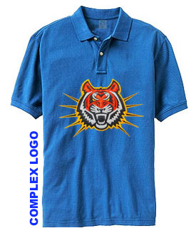 Personalised polo shirts from for Embroidery placement on t shirts