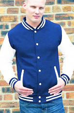royal blue with white sleeve top