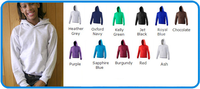 ss children hooded sweatshirts