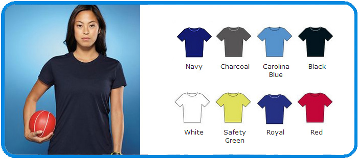 47989c286 Gildan 100% sport Polyester core performance women tshirt GD170