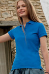 womens polo fitted shirt